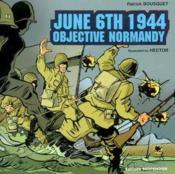 Version Anglaise Objectif Normandie - Couverture - Format classique