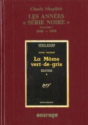 Annees Serie Noire/1 - Couverture - Format classique