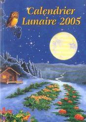 Calendrier lunaire (édition 2005) - Intérieur - Format classique