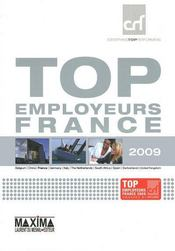 Vente livre :  Top employeurs France (édition 2009)  - Collectif