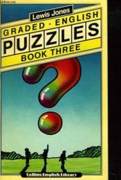 Grades English Puzzles. Book Three - Couverture - Format classique