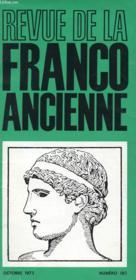 Revue De La Franco Ancienne N°180 - Couverture - Format classique