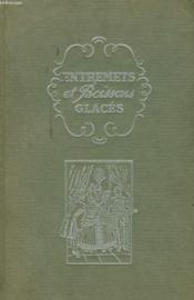 Entremets Et Boissons Glaces - Couverture - Format classique