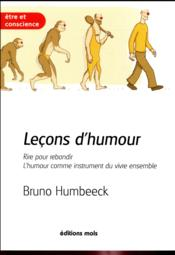 Vente  Leçons d'humour  - Bruno Humbeeck