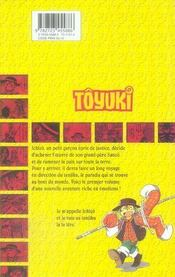 Toyuki t.1 - 4ème de couverture - Format classique
