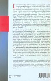 Mecanique Des Milieux Continus ; Cours Exercices Et Problemes ; 1ere Annee - 4ème de couverture - Format classique