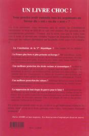 Referendum Europeen - La Constitution Devoilee, Les Citoyens Abuses - 4ème de couverture - Format classique