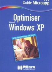 Optimiser windows xp - Intérieur - Format classique