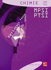 Chimie 1ere Annee Mpsi & Ptsi - Intérieur - Format classique