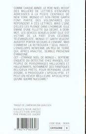 Le Second Cavalier De L'Apocalypse - 4ème de couverture - Format classique