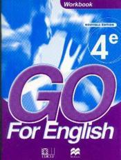 Go for english 4e / livret d'activites - Couverture - Format classique