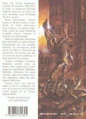 Le Mort Du Necromant - 4ème de couverture - Format classique