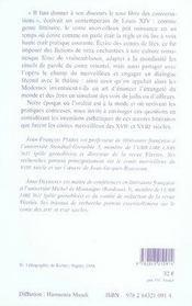 Le conte en ses paroles ; la figuration de l'oralité dans le conte merveilleux du Classicisme aux Lumières - 4ème de couverture - Format classique