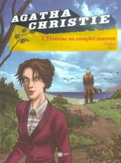 Agatha Christie t.10 ; l'homme au complet marron - Intérieur - Format classique