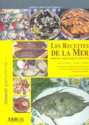 Les Recettes De La Mer - 4ème de couverture - Format classique