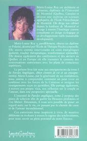 Paroles Angeliques T.2 - Chemin Guerison - 4ème de couverture - Format classique