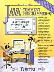 Comment programmer en java 4eme edition - Intérieur - Format classique