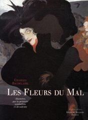 Les fleurs du mal de Charles Baudelaire illustrées par la peinture symboliste et décadente - Intérieur - Format classique