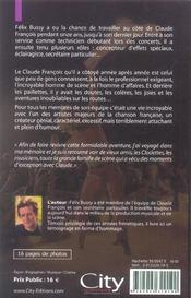 Sur La Route Avec Claude Francois - 4ème de couverture - Format classique