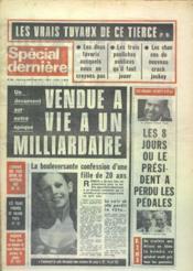 Special Derniere N°323 du 09/05/1975 - Couverture - Format classique