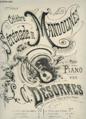 Celebre Serenade De Mandolines - Pour Piano. - Couverture - Format classique