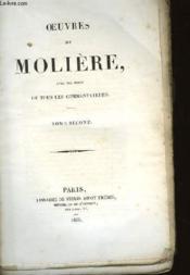 Oeuvres De Moliere Avec Des Notes De Tous Les Commentateurs - Couverture - Format classique