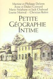 Vente  Petite Geographie Intime  - Philippe Delerm