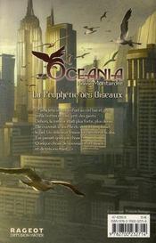 Oceania t.1 ; la prophétie des oiseaux - 4ème de couverture - Format classique