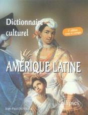 Dictionnaire culturel amérique latine (2e édition) - Intérieur - Format classique