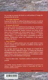 Psychiatrie Legale - 4ème de couverture - Format classique