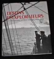 Destins d'explorateurs - Intérieur - Format classique