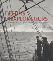 Destins d'explorateurs - Couverture - Format classique