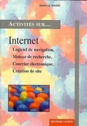Activités sur Internet - Couverture - Format classique