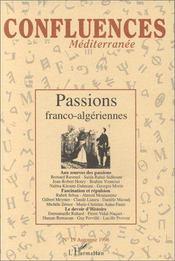 Passions Franco Algeriennes - Couverture - Format classique