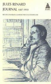 Journal 1887-1910 - Intérieur - Format classique
