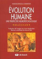 Evolution Humaine - Intérieur - Format classique