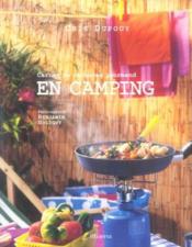 En camping. carnet de vacances gourmand - Couverture - Format classique
