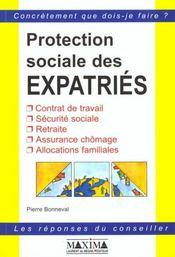 La Protection Sociale Des Expatries - Intérieur - Format classique