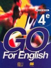 Go For English 4e (Senegal) - Couverture - Format classique