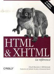 Html et xhtml (6e édition) - Intérieur - Format classique
