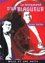 Le Testament D'Un Blagueur - Intérieur - Format classique