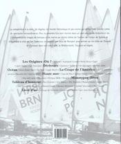 Le Monde Des Regates - 4ème de couverture - Format classique