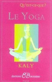 Qu'est-ce-que le yoga ? - Intérieur - Format classique