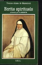 Ecrits Spirituels - Couverture - Format classique