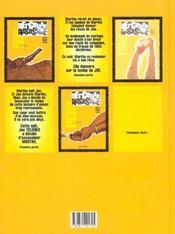 Berceuse assassine t.2 ; les jambes de martha - 4ème de couverture - Format classique