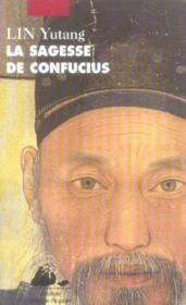 Sagesse De Confucius (La) - Couverture - Format classique