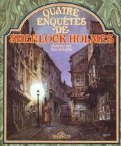 Quatre Enquetes De Sherlock Holmes - Intérieur - Format classique