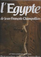 Egypte De J F Champollion - Couverture - Format classique