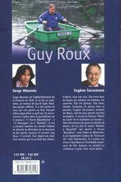 Guy Roux Entraineur De Ma Vie - 4ème de couverture - Format classique