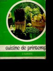 Cuisine De Printemps - Couverture - Format classique
